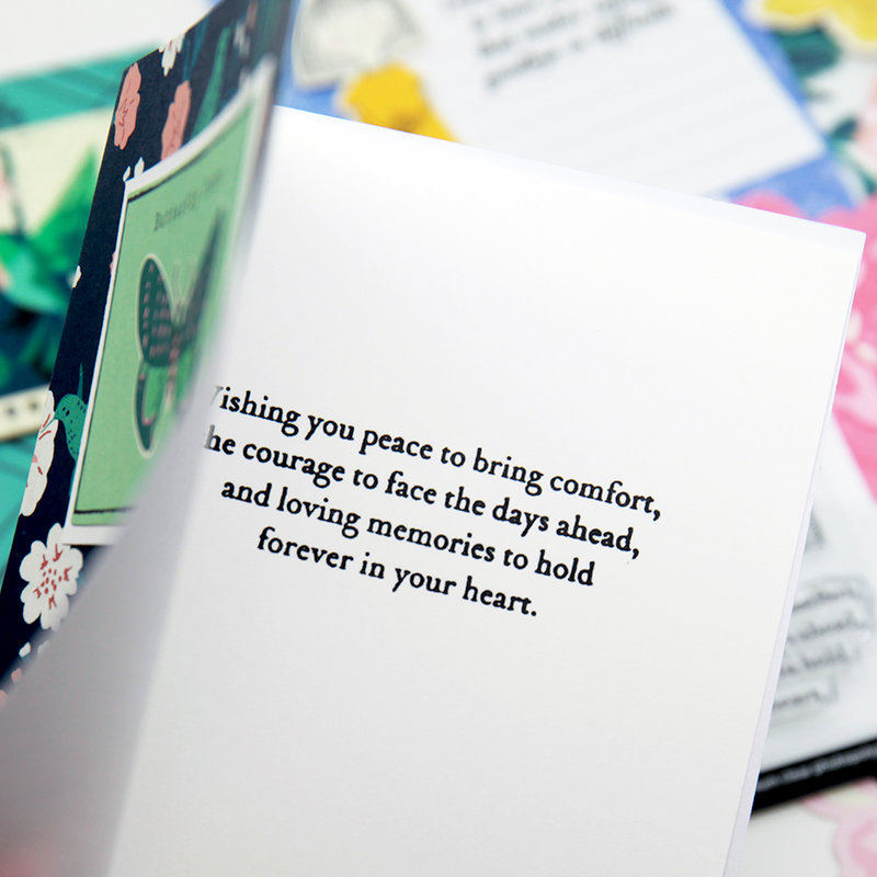 Wishing You Peace - Card Example