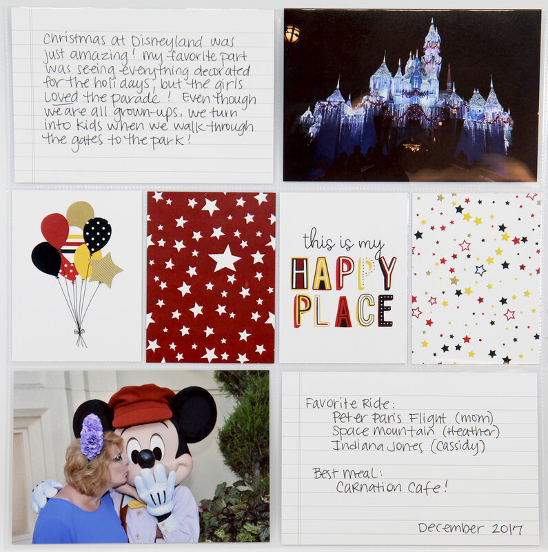 Disney-Themed Layout