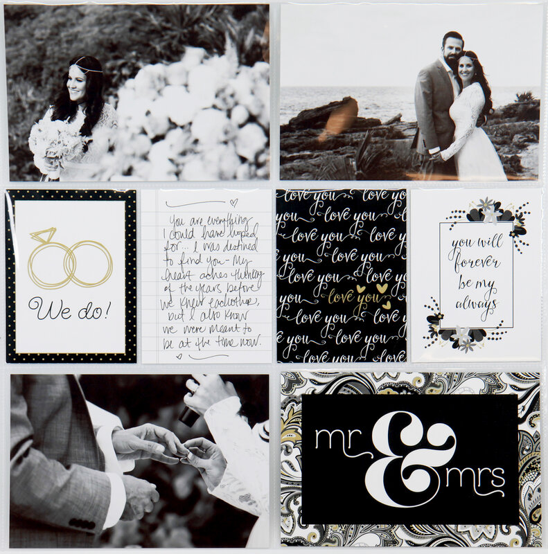 Easy Albums Wedding Layout