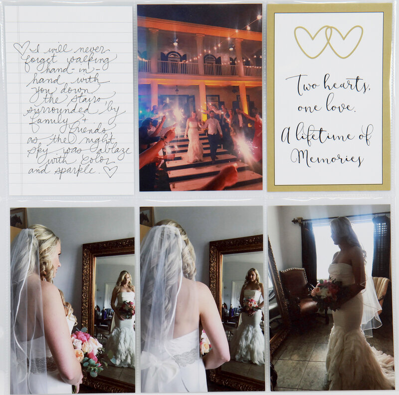 Wedding Layout with Easy Albums