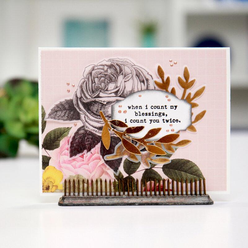 Happy Little Sentiments Card