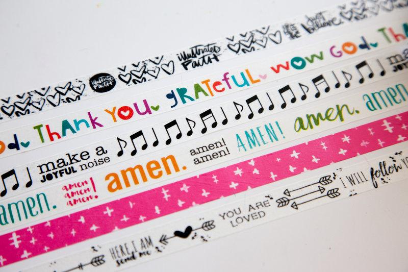 Illustrated Faith washi tape