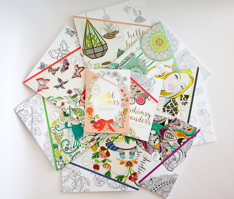 Kaisercraft Coloring books