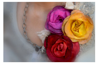 Brothers Scan N Cut - Linen Rose Necklace