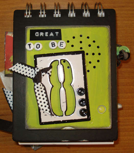 "Album cover ""Great to be 8"" With A ""My Pages Talk"" Recording Device by Christina Treu"