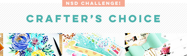Crafter's Choice Challenge - NSD 2018