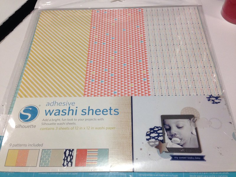 Silhouette America SPC Trade Show Summer 2014 Washi Sheets