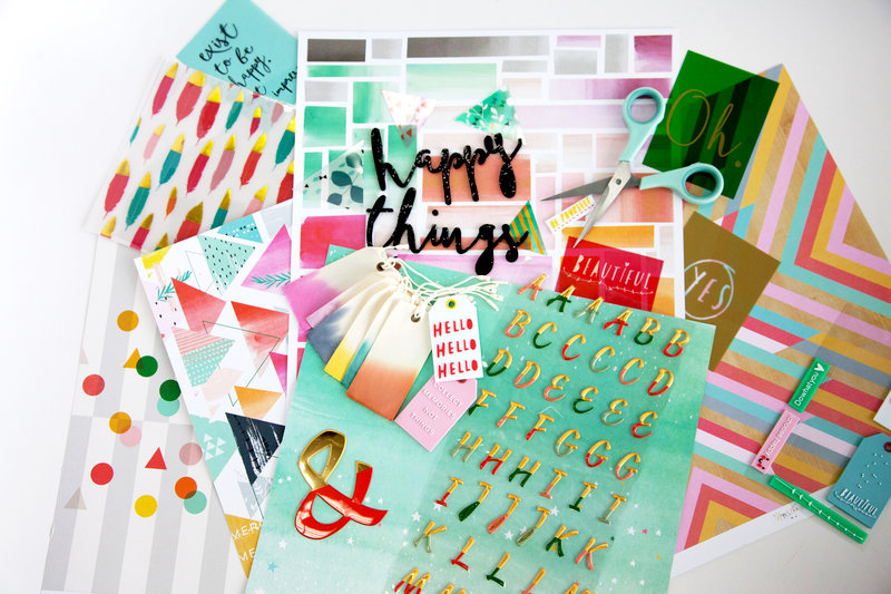 Pink Fresh Studio - Happy Things Collection