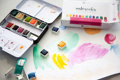 Watercolor Confections by Prima