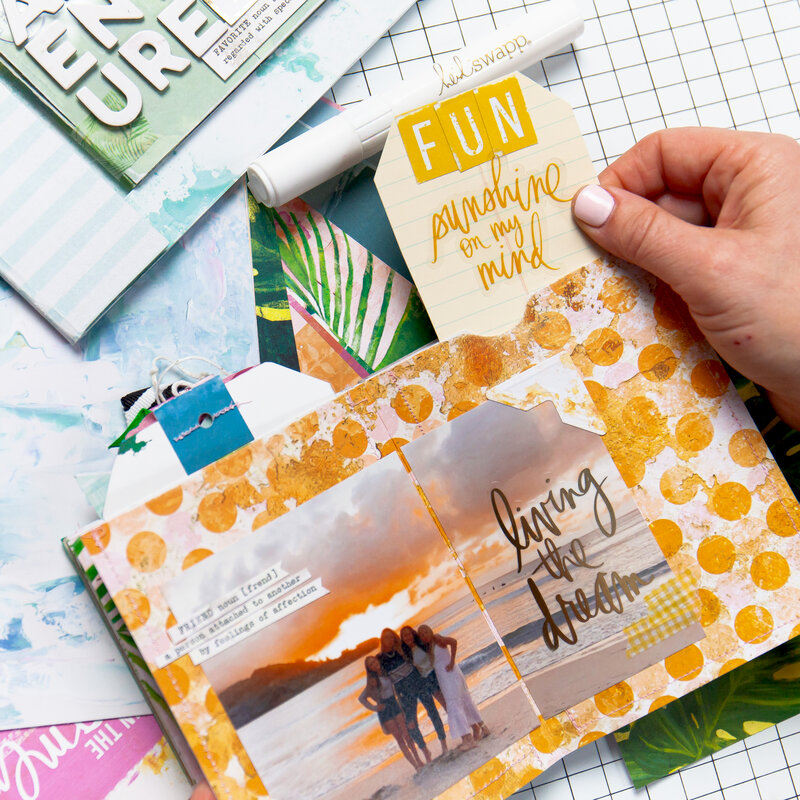 Pro Tips to Rock Your Next Mini Album | the Exclusive Mini Class from Heidi Swapp with Scrapbook.com