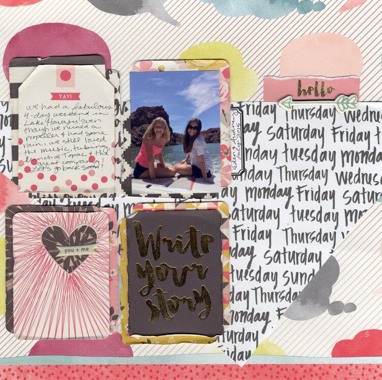 Journaling Cards as Design Elements