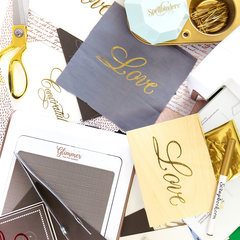Take the FREE Class Creative Calligraphy and Foil Design with Paul Antonio!