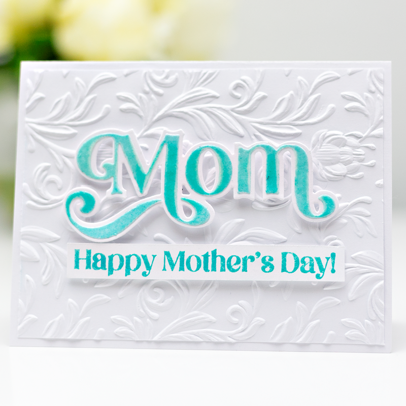 Salvaged Patina Card for Mother's Day!