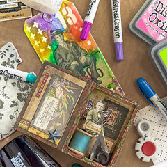 Register for the FREE Tim Holtz Class at Scrapbook.com!