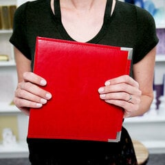 Red 6x8 Album