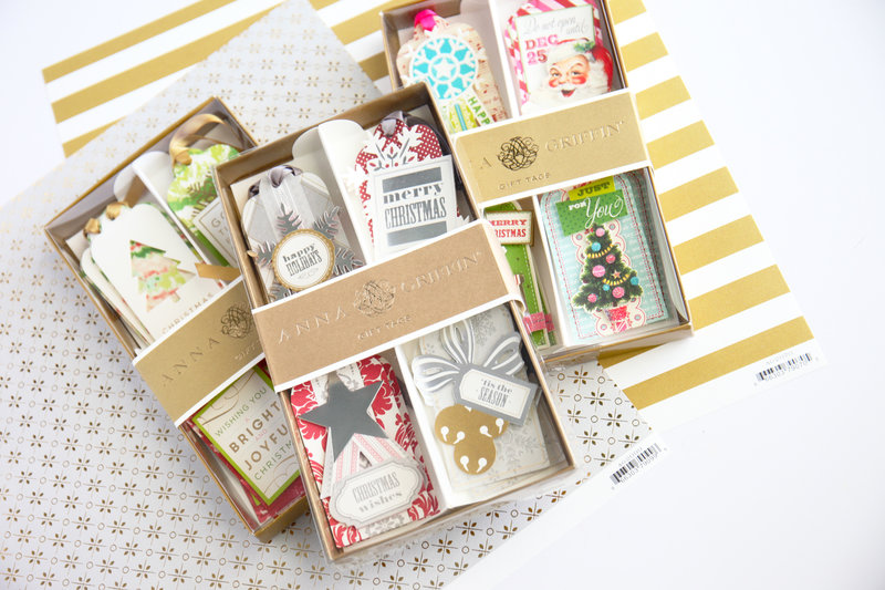 Anna Griffin Holiday Tags and Papers