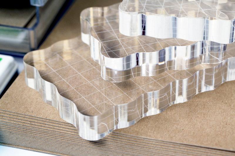 Umbrella Crafts Acrylic Stamp Blocks