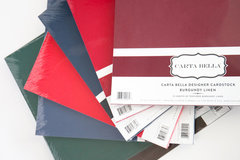 Carta Bella Bulk Cardstock Packs