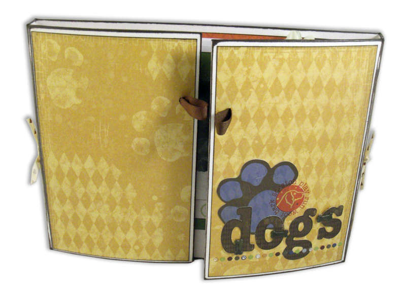 Gate Fold Album (closed) - Our Dogs