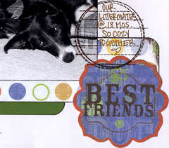 Gate Fold Album  - Our Dogs, Front Page Details
