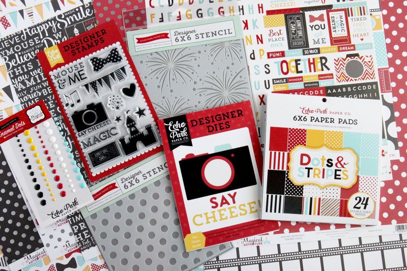 Echo Park Paper Magical Adventure Collection