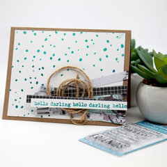 Hello Darling Card Example