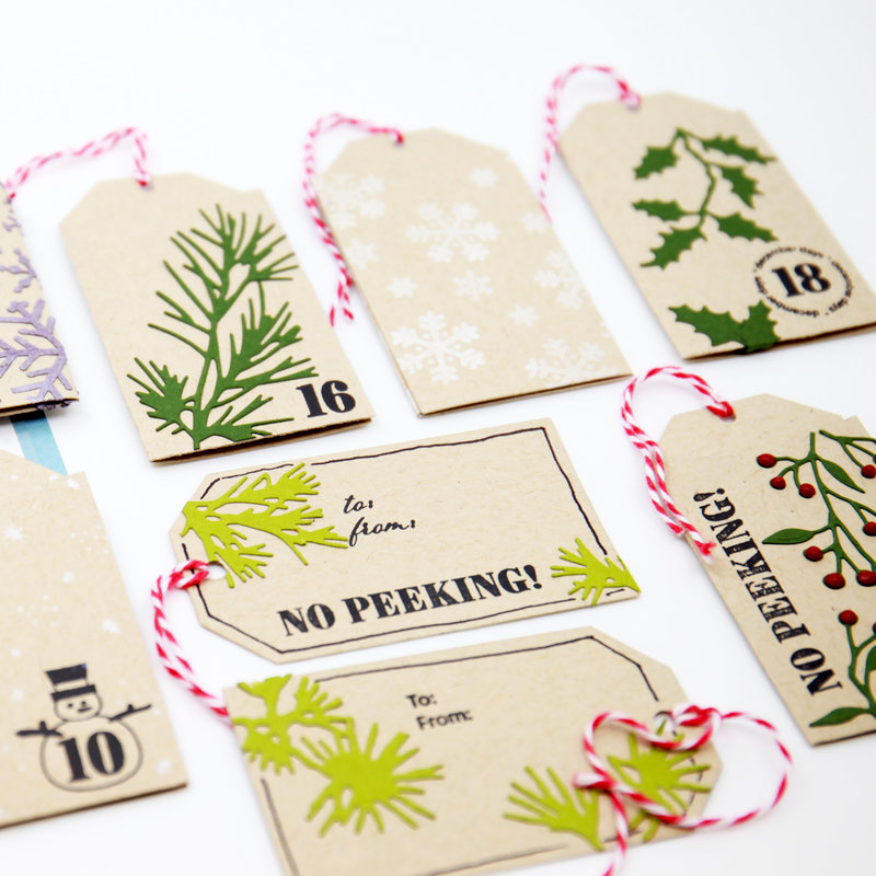 more gift tags!