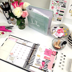 NEW Heidi Swapp - CHA 2015 Winter _ Hello Beautiful Memory Planner
