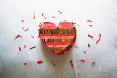 Piñata Fringe Heart
