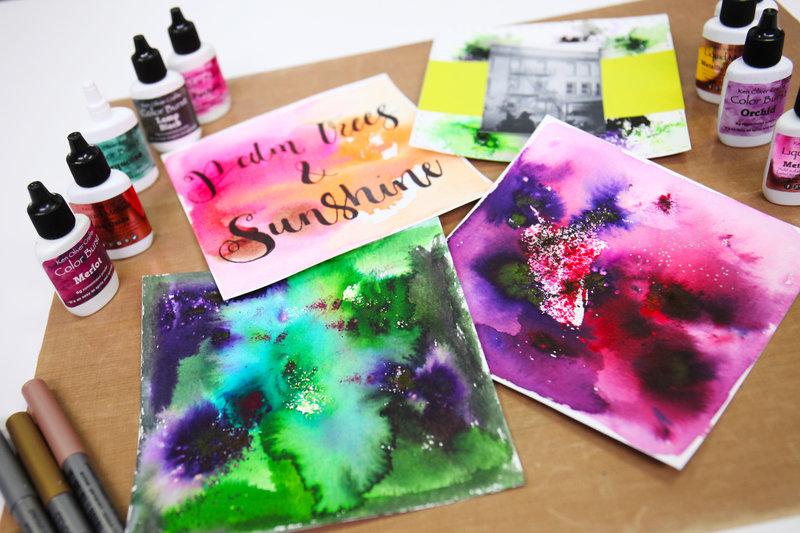 Ken Oliver New Liquid Metals and Color Burst Collection