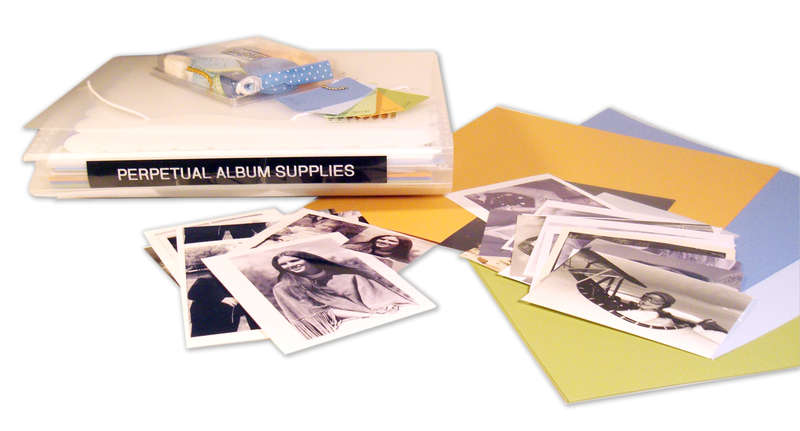 Perpetual Album Supplies Folder