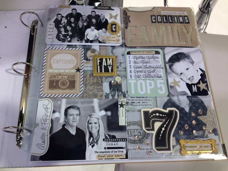 We R Memory Keepers and Teresa Collins Albums Made Easy CHA Winter 2014
