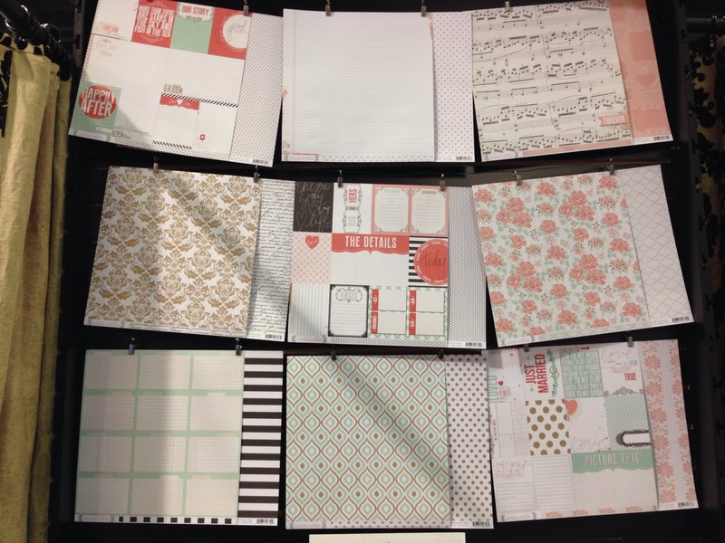 Teresa Collins Save the Date Collection CHA Winter 2014
