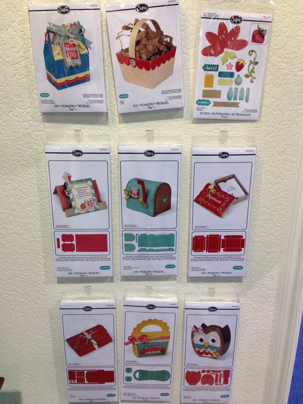 NEW Sizzix CHA Winter 2014 Dies and Embossing Folders