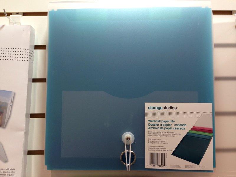 Advantus Waterfall File Folder NEW CHA Winter 2014