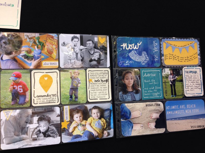 The Crafters Workshop Project Samples NEW CHA Winter 2014