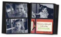 Photo Album - With Embellished Mini Layout Insert
