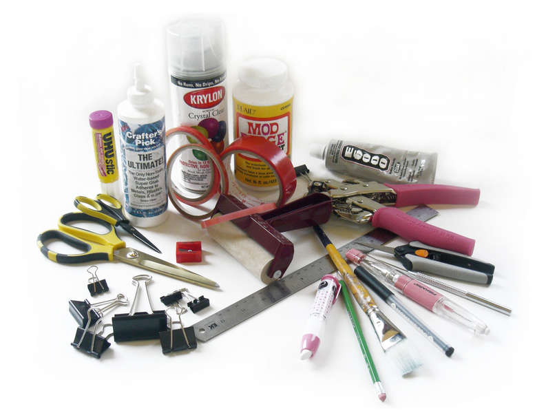 Products and Tools Used to Decorate Albums