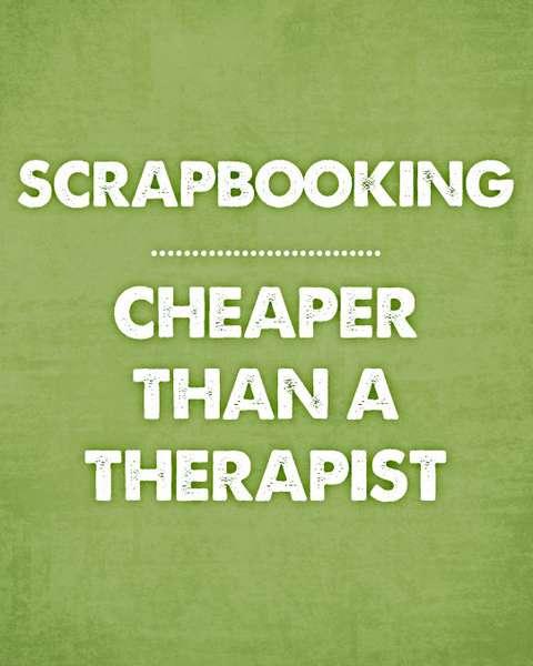 Quote - Cheaper Than a Therapist