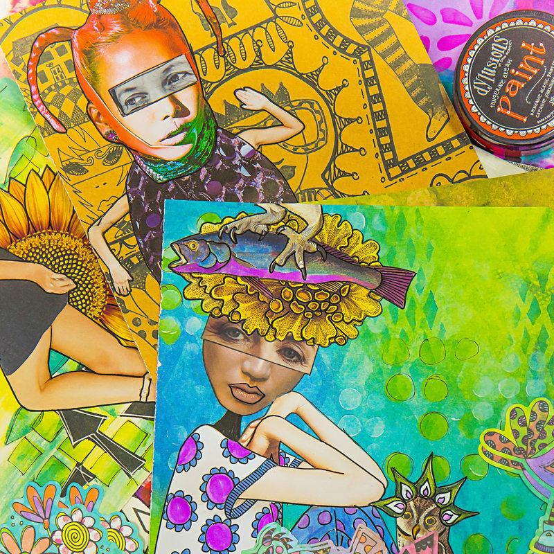 Take the FREE Class How to Art Journal the Dylusions Way with Dyan Reaveley!