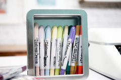 Distress Marker Storage