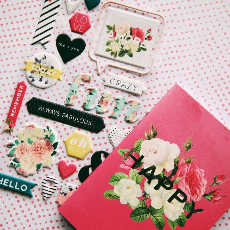 C'est La Vie collection - Pink Paislee