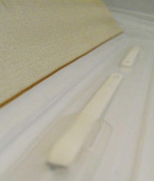 """""""YES!"""" Wedding Album - Detail of Snap Lock Binding"""