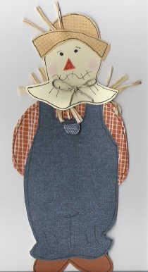 scarecrow paper piecing