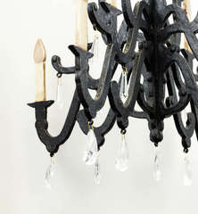 Vintage Chandy for my Scraproom - Chandelier Drops