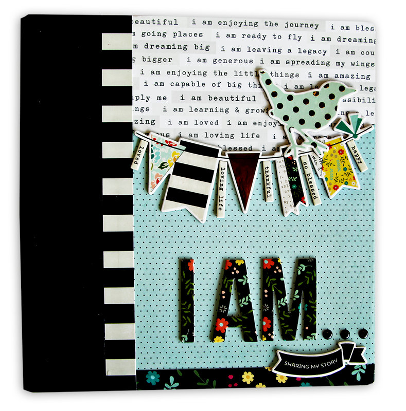 I Am... Album Cover - Embellished