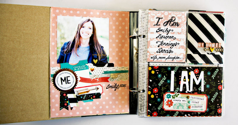 I Am _______ (My names) Page, with Matchbook Interactive Booklet