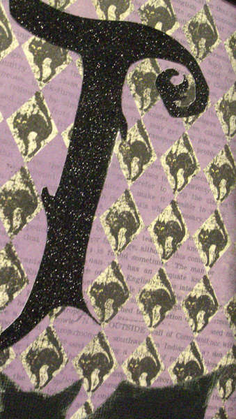 Batty For You Reversible Halloween Banner *Close up 2