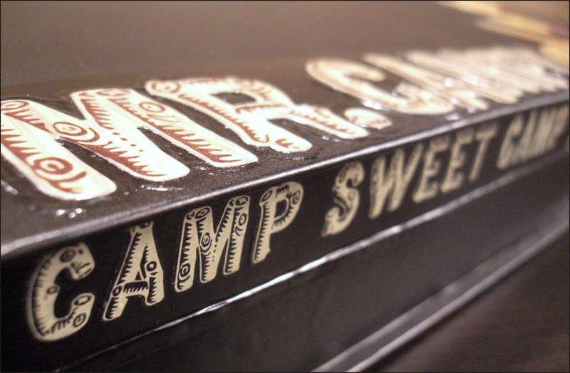 Mr. Campy Tin Album (rub-on detail around edge)