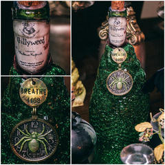 DIY Harry Potter Potions for Halloween: Gillyweed